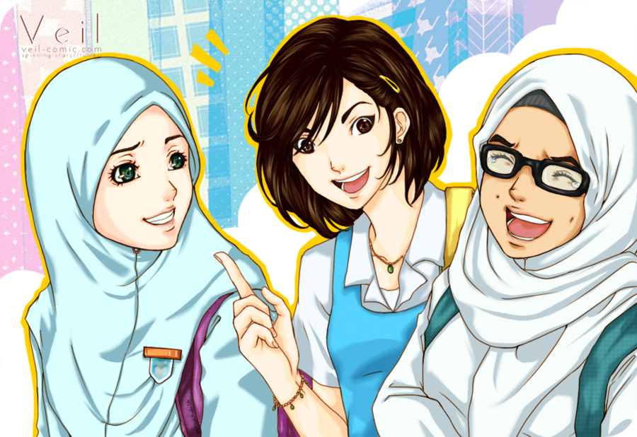 Hijab Does Not Equal Friendships' Restriction | Alhabib Islamic Style